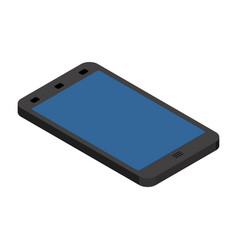 smartphone isometric style gadget phone is vector image