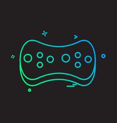 sponge icon design vector image