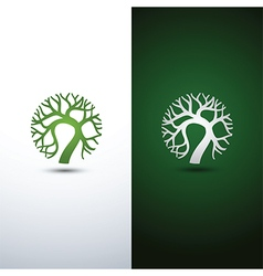 Tree logo 3 vector