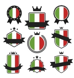 World Flags Series Flag of Italy vector image