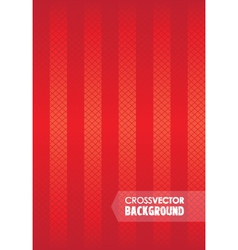 cross background red vector image