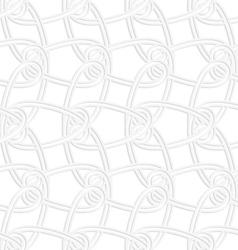 3D vertical interlocking ornament vector image