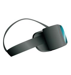 3d vr glasses vector