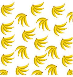 banana fruit food seamless pattern vector image
