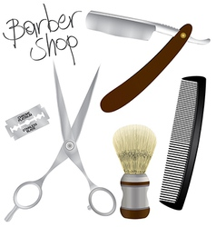 Barber shop vector