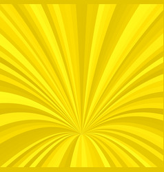 Curved ray burst design background - graphic from vector