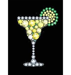 Diamond Cocktail vector image
