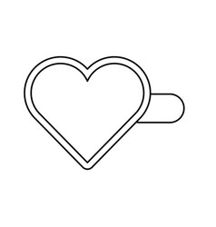Heart hairpin vector
