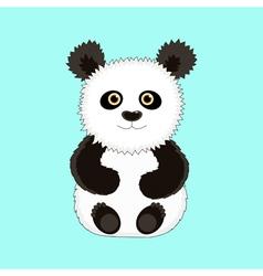 Panda 1 vector image
