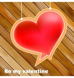 Valentines day concept with copyspace EPS8 vector image