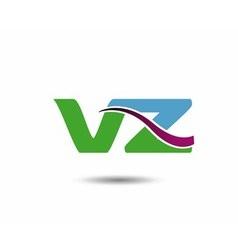 VZ logo vector image