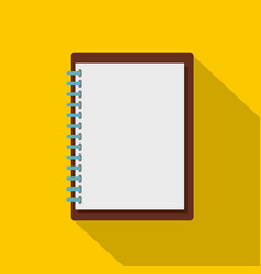 Sketchbook icon flat style vector