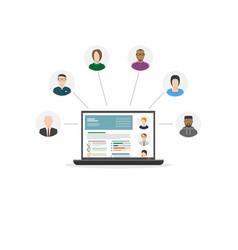 human resources department vector image
