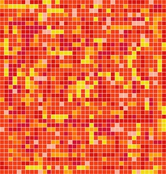 Abstract background of mosaic elements vector image