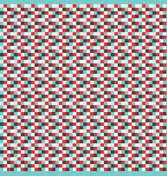 abstract cube pattern background vector image