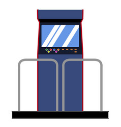 Arcade dance machine vector