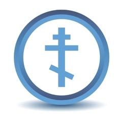 Blue Orthodoxy icon vector