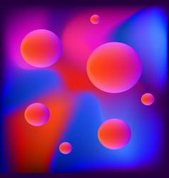 Blurred colorful background futuristic colors vector