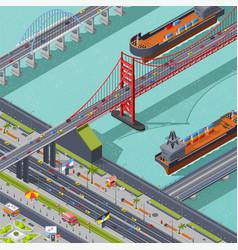 Bridges isometric composition vector