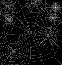 Cobweb silhouette vector