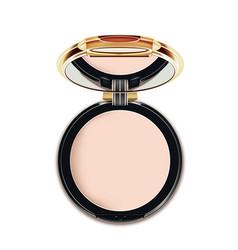 Face cosmetic makeup powder vector