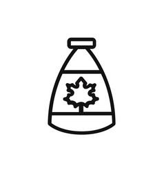 fall icon vector image