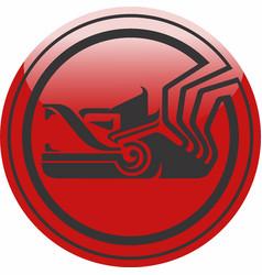 Mexican quetzalcoatl logo vector