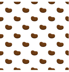 steak pattern seamless vector image