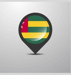 togo map pin vector image