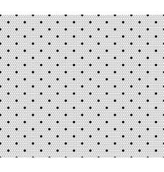 Dot Lace Pattern vector image