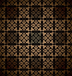 Victorian wallpaper pattern vector image vector image