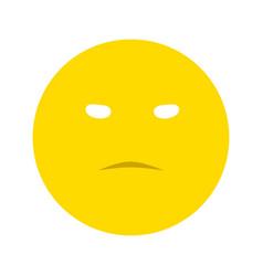 Evil smiley icon vector