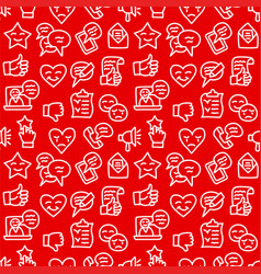 Relationship seamless pattern vector