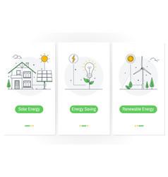 Solar energy energy saving renewable energy vector