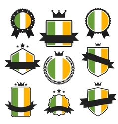 World flags series flag of ireland vector
