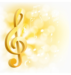 background with golden key vector image vector image