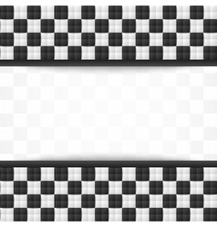 Chessboard document template vector image vector image