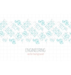 Horizontal poster cover banner background of vector image