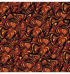 orange black seamless vector image vector image