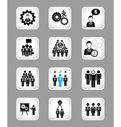 teamwork people vector image vector image