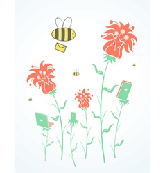 Bee provider vector
