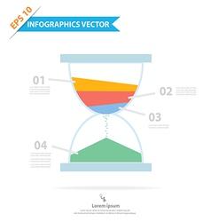 Sandclock Infographics vector image