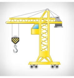 The crane vector image vector image