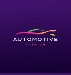 Automotive logo icon vector