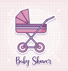 Baby shower design ilustration icon baby vector