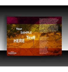 Brochure and Pamphlet Template vector