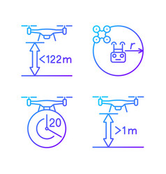 Drone proper control gradient linear manual label vector