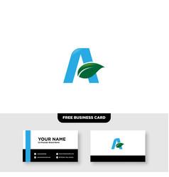 Logo design for agriculture agronomy rural vector