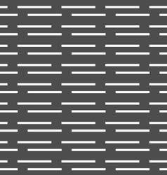 Monochrome pattern with white horizontal brick vector