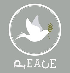 peace design vector image